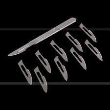 Skalpellgriff No. 4  10x Klingen Skalpellklinge Messer Form 23 & 1x Skalpell Neu