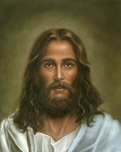 """Catholic print picture  -  JESUS 4  -  8"""" x 10"""" ready to be framed"""