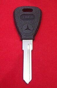 MB18P MERCEDES BENZ LOGO Key Blank 1969-1979 250 280 350 450 SL SEL SE SEL SEC