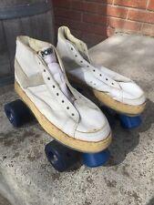 Vintage Pony Leather High Top Tennis Shoe - Sneaker Roller Skates Men's 8 1/2!!!