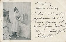 AK Frauen: Nach dem Bade - Gruss aus Colmar 1898