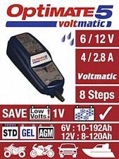 OPTIMATE 5 Voltmatic Motorrad Batterie Ladegerät mit SAE Anschluss 6V/12V