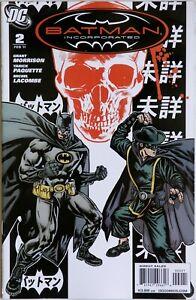 Batman Incorporated #2 Vol 1 Variant - DC Comics - Grant Morrison - Y Paquette