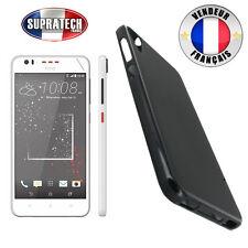 Coque Housse Silicone Noir Souple pour HTC Desire 825