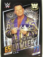 """Slam Attax Then Now Forever - #203 Jerry """"The King"""" Lawler"""