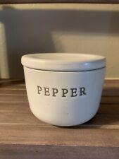 Hearth And Hand Magnolia Stoneware Pepper Cellar