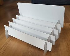 Cardboard Greeting Card display Stand - contemporary style - easy assembly