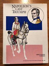 Napoleon's Last Triumph - Simulations Canada Wargame - Unpunched