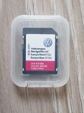 LATEST VW RNS 315 WEST Europe V12 Navigation map SD card RNS315 2020 SEAT SKODA
