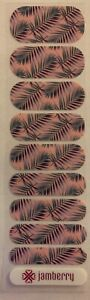 Jamberry Nail Wraps Half Sheet Rose Quartz Getaway Retired