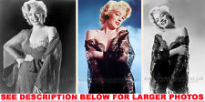 MARILYN MONROE SEXIEST LINGERIE SHOOT 3xRARE4x6 PHOTOS