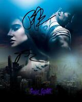 Shailene Woodley Theo James Divergent SIGNED AUTOGRAPHED 10X8 REPRO PHOTO PRINT