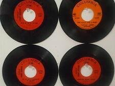 "LOT OF 4 ' ""LITTLE"" JIMMY DICKENS ' HIT 45's       THE 60's!"