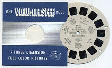 Locarno Ascona Brissago Switzerland 1955 Belgium-made ViewMaster Reel 2041