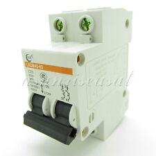 Mini Circuit Breaker 2 Pole 25A 400V C25 DZ47-63 LXCM45-63 Overload Protection