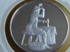 Lot 23 39mm argent épreuve Médaille Monaco pièces de monnaie