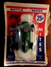 Barclay Vintage Metal Mites Bottle Series Stock Race Car / Mint Condition