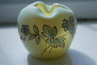 Victorian Burmese Glass Vase  - Uranium Glass - Thomas Webb (?)   #31