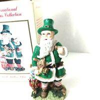 The International Santa Claus Collection Irish Father Christmas Figurine 1995