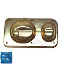 "1967-81 GM Cars Disc Brake Master Cylinder Lid - Gold Cap 3 1/4""X6"" Rectangular"