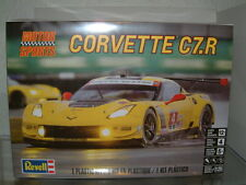 1/25 CHEVROLET CORVETTE C7-R 2015 LE MANS RACE CAR , REVELL PLASTIC KIT