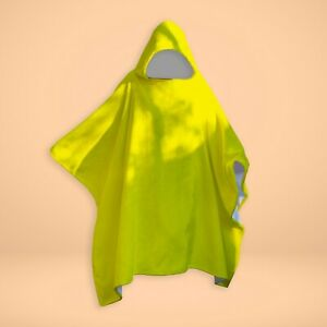 Plain Yellow - SNUGAROO Hooded Fleece Poncho