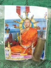 Takrut Bullet Mantra LP Chamnan Talisman Power Protection Thai Buddhist Amulet
