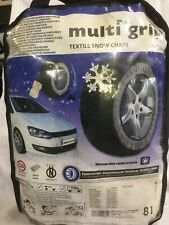 Multi Grip Textile Snow Chains 81. Used