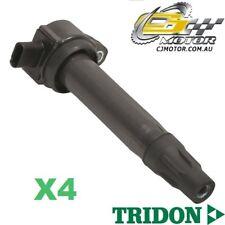 TRIDON IGNITION COIL x4 FOR Dodge  Caliber PM 08/06-06/10, 4, 1.8L-2.4L