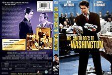 Mr. Smith Goes to Washington ~ New DVD ~ James Stewart, Jean Arthur (1939)