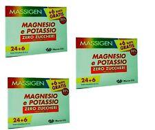 3 MASSIGEN MAGNESIO E POTASSIO 3X30 BST. ZERO ZUCCHERI E ZERO CALORIE