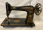 Antique Red Eye 1913 Model 66 Singer Treadle Sewing Machine G3376510 Cast Iron