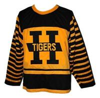 Any Name Number Size Hamilton Tigers Retro Custom Hockey Jersey Yellow