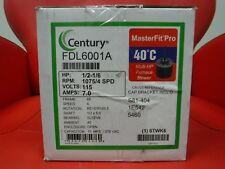 CENTURY FDL6001A MASTERFIT DIRECT DRIVE BLOWER MOTOR 115V 1075 RPM NEW in BOX