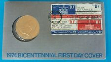 Stamp & Coin Collector's - 1974 Bicentennial First Day Cover