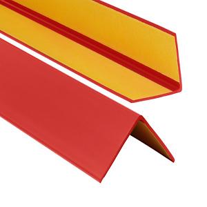 PVC Winkelprofil 50x50mm Selbstklebend  Kunststoff Gummi Kantenschutz 70-200cm