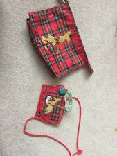 Neck Purse And Pencil / Make Up Bag New