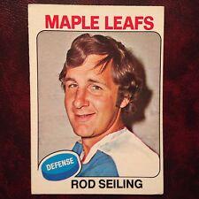 1975-76 O-Pee-Chee OPC Set ROD SEILING #229 TORONTO MAPLE LEAFS - EX-MINT