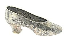 Antique 800 Silver Geman Angel Shoe - Hallmarked Circa 1890s