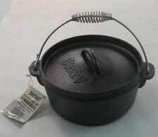 Bayou Classic 7402 2 Quart Cast Iron Dutch Oven Cast With Lid 18513