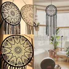 Large Handmade Dream Catcher Lace Dreamcatcher Wall Hanging Craft Gift Decor