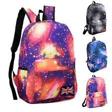 Fashion Galaxy Pattern Unisex Travel Backpack Canvas Leisure Bags School Bag ,