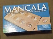 Mancala Cardinal Games Finished Board Family Stones Game Oak Gemstones