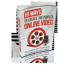 Create The Perfect Online VIDEO With These 10 Easy Ways; Hot New Techniques (CD)