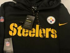 Nike NFL Pittsburgh Steelers Football Américain Therma Sweat à Capuche Veste Homme Large