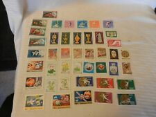 Lot of 40 Hungary Stamps, from 1970-1974, Sports, Art, Famous Events, More