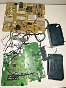 Sharp LC-60LE660U LED TV Internal Parts - T-Con, Main & Power Board, Speakers