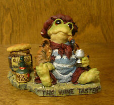 Boyds RIBBIT & CO. #36702 JACQUES GRENOUILLE...THE WINE TESTER From Retail Store