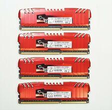 Kit of 4 G.Skill Ripjaws Z DDR3-1600MHz 8GB F3-12800CL10Q-32GBZL