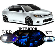 Ultra Blue LED Package - Interior + License Plate for Scion tC (9 pieces)